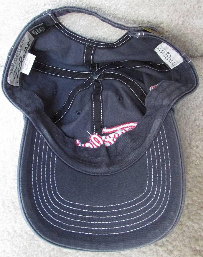 MLB Boston Red Sox Titleist Baseball Hat Cap OSFA Gray – RonSusser.com 2045174f244