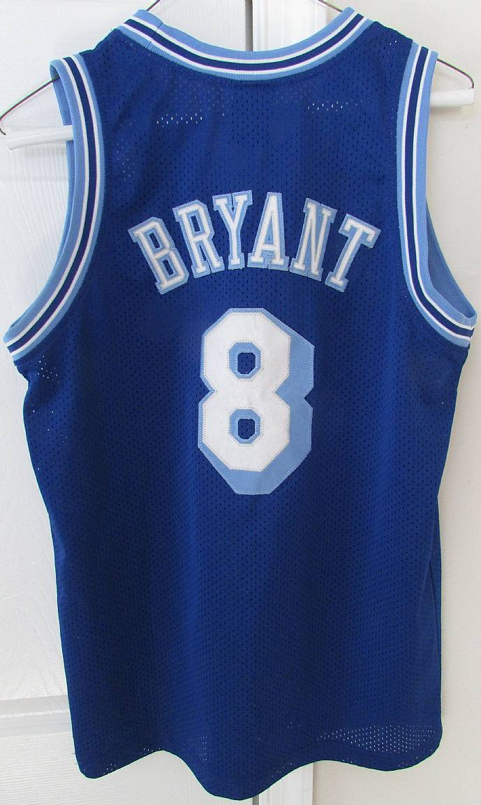 new concept 1c1ee 1be2d NBA Los Angeles Lakers Blue Kobe Bryant #8 Jersey Youth ...