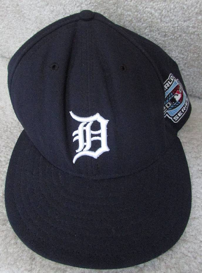 Available Today Is A MLB Detroit Tigers 2006 World Series New Era 59Fifty Baseball Cap Hat Size 7 3 8 Black With Logo And
