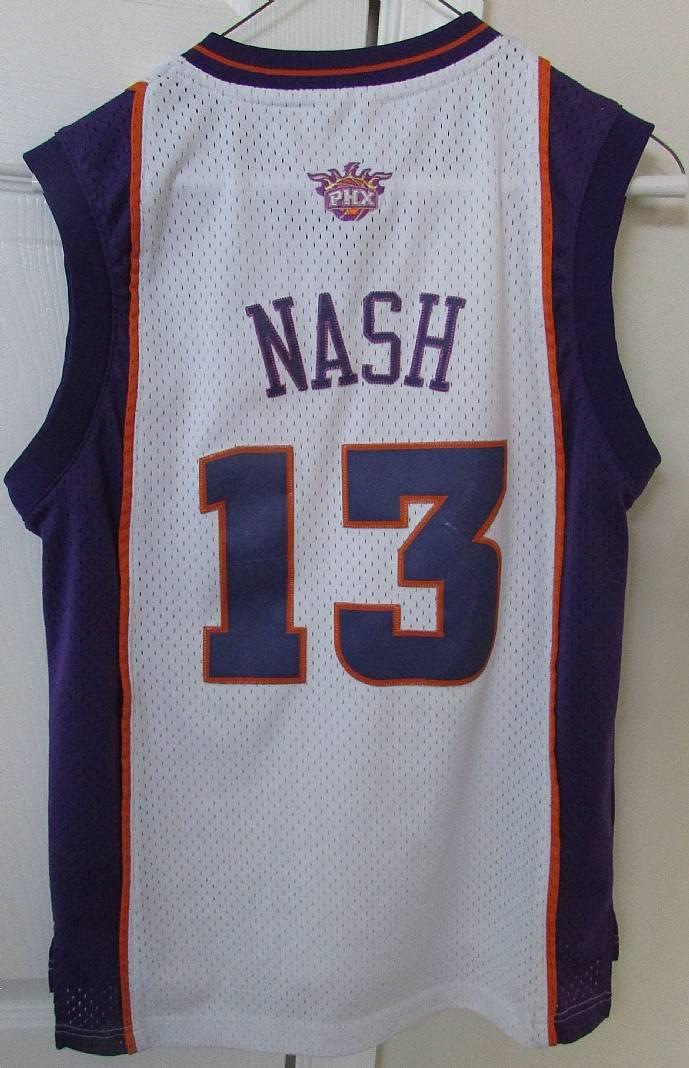 pretty nice 8838e 9746f Phoenix Suns NBA Steve Nash #13 Youth Jersey Medium (length ...