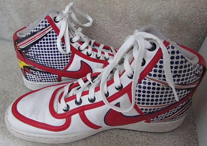 Nike Vandal High Premium Pop Art