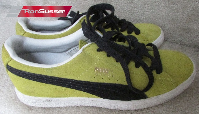 quality design 15911 ecbbc Vintage PUMA Clyde Yellow Suede Sneakers Mens Size 7.5 ...