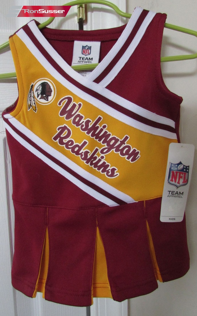 free shipping 5c2c0 de290 NFL Washington Redskins Infant Cheerleader Outfit 12 Months ...