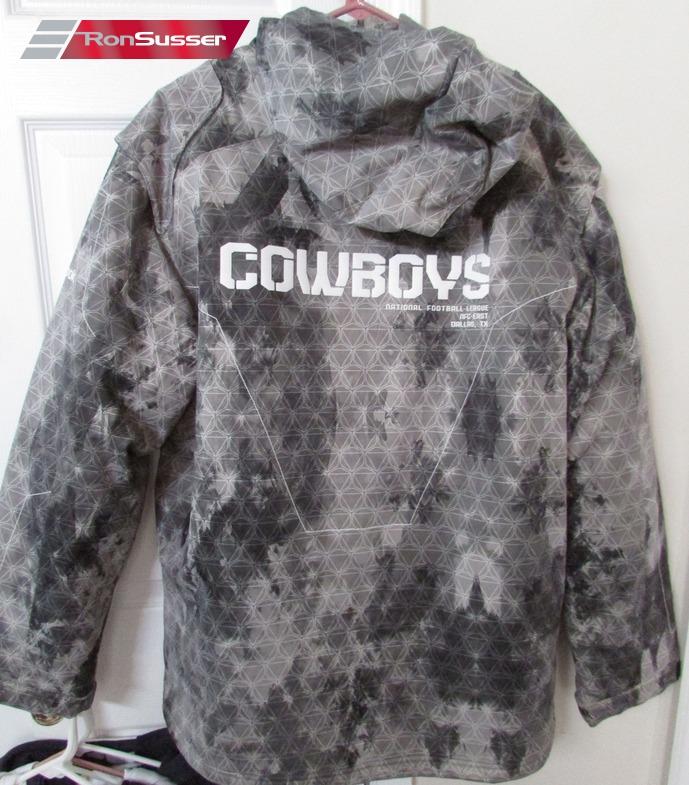 NFL Dallas Cowboys Adult Hoodie Full Zip Jacket Medium by Reebok ... 41789112f