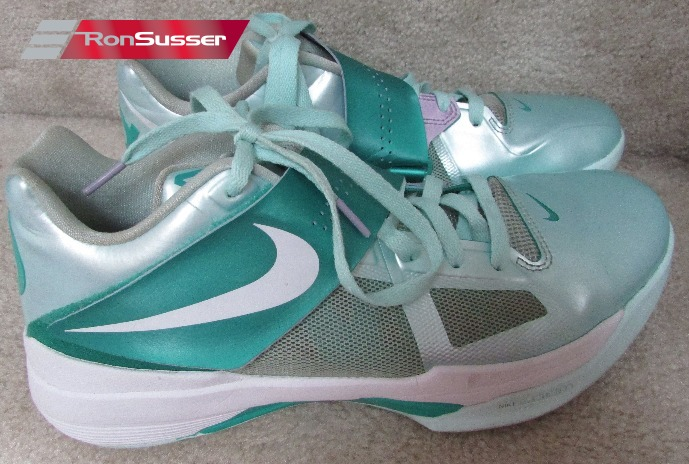 d8811c787892 Nike Zoom KD 4 IV Easter Mint Candy Size 10.5 100% authentic EUC ...