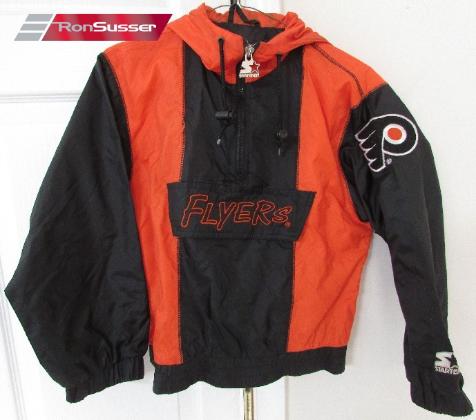 7fe69a2c2691 ... amazon available today is a great nhl philadelphia flyers youth hoodie  1 4 zip windbreaker.