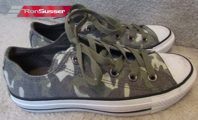 Converse All Star Camo Sneakers Size 5 Women EUC 527258F Worn Once ... f3f5d29d92