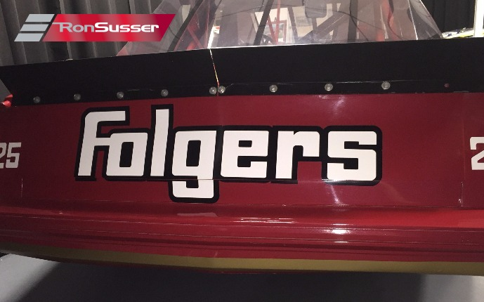 1987 Nascar Tim Richmond Folgers Monte Carlo Restored And
