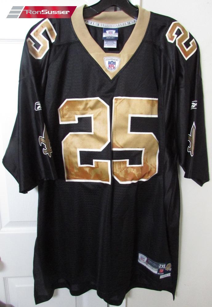 Nfl New Orleans Saints Reggie Bush 25 Replica Jersey 2xl