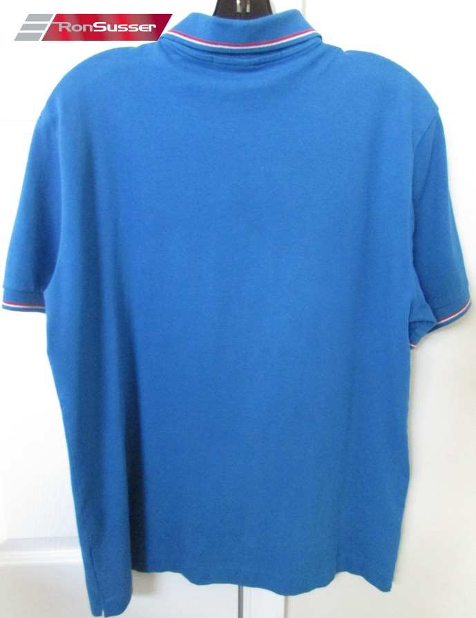 Grey Goose Vodka Licensed Ladies Golf Polo Shirt Blue