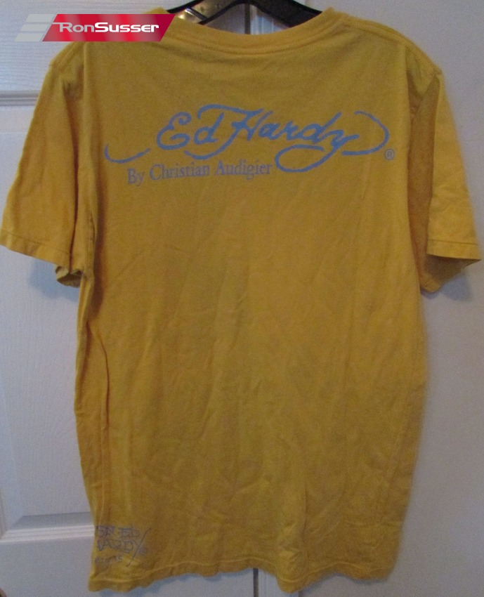 Authentic don ed hardy adult t shirt size medium by for Adult medium t shirt