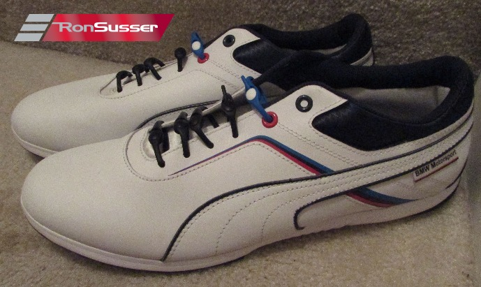 e99ac87ac6c PUMA BMW MS Mens Driving Shoes Sneakers IGNITE WHITE 305098 01 Size 11.5 NEW