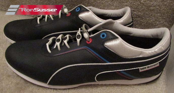 f7f96240193 PUMA BMW MS Mens Driving Shoes Sneakers IGNITE Navy Blue 305098 02 Size  11.5 NEW