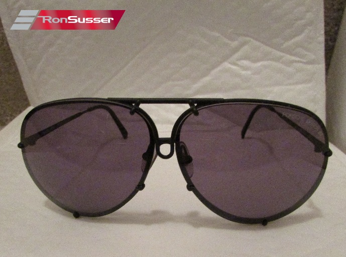 9586230a87b6 I am pleased to offer these vintage Porsche Design PD Carrera Aviator  sunglasses (style 5621). Frames are matte black and lenses are solid  (non-gradient) ...