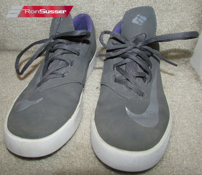 bee2e8d731d2 Nike KD Vulc (GS) Youth Size 5Y Gray with Purple 642085 051 ...