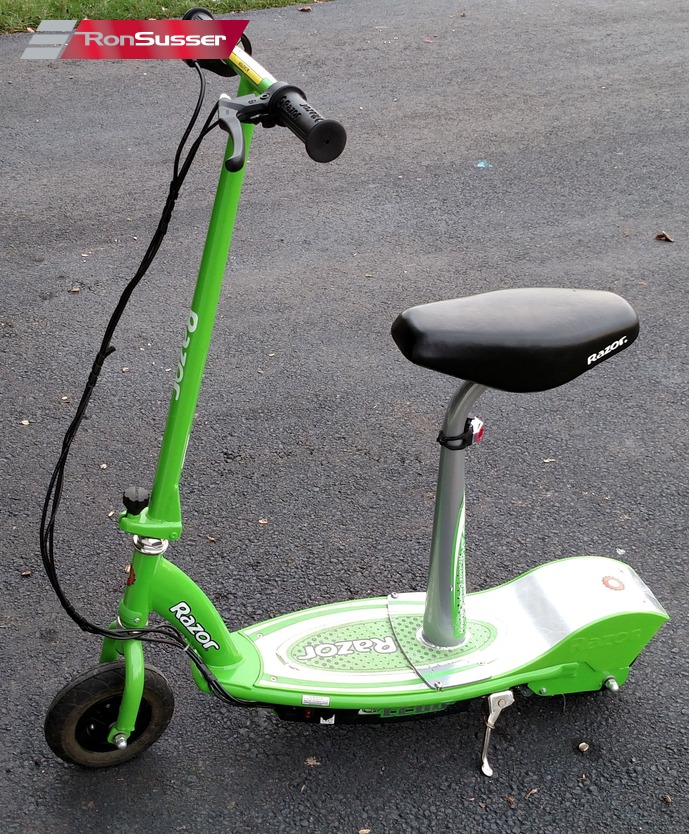Razor E200s Seated Electric Scooter Green With Charger Euc