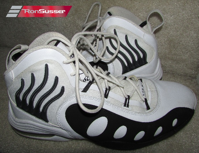super popular 80c58 89253 Nike Sonic Flight Gary Payton Mens Basketball Shoes Samples GP20 Size 9