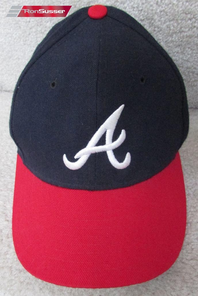 MLB Atlanta Braves New Era 5950 Diamond Collection Baseball Cap Hat