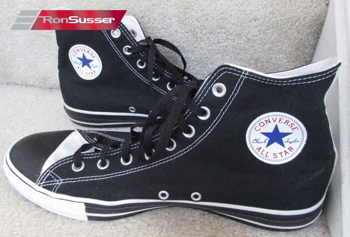 2adb77b9fe7 I am pleased to offer this great pair of Converse Chuck Taylor All Stars  custom adult hi top sneakers. Great black and white design with custom 8 25  12 ...