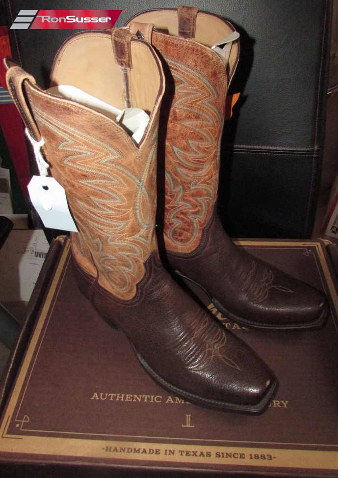 Lucchese Heritage Ferris Mens Jurassic Brown Sheep Cowboy
