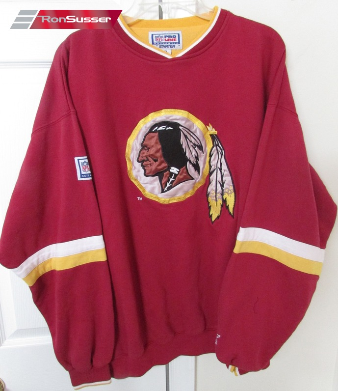 NFL Washington Redskins Adult Pullover Sweatshirt XL Great Design by  free shipping