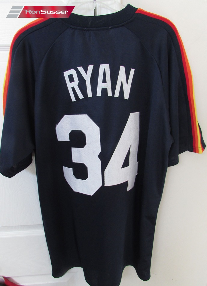 huge discount 1c0c5 3d7df Details about MLB 1980 Houston Astros Nolan Ryan #34 Jersey Mitchell Ness  Sz 50 $300 NWT New