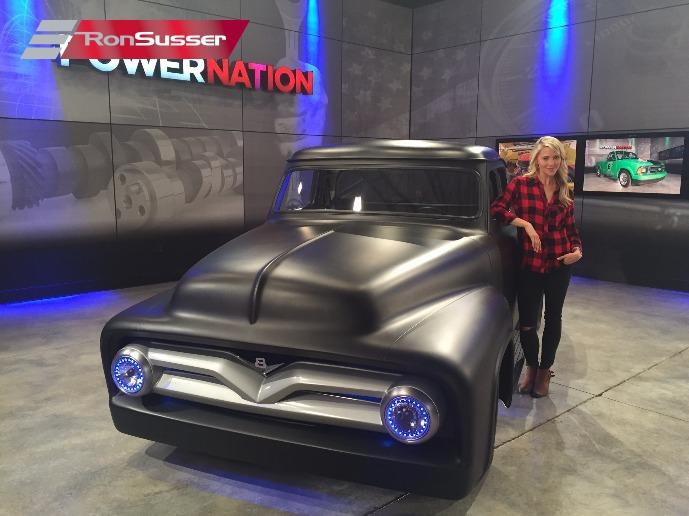 1955 Ford Custom F100 Pickup Overstacked SEMA Show Truck 460ci