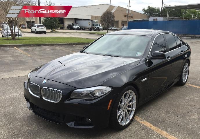 2011 BMW 550i Sedan with Dinan Mods 13,XXX Miles Black Sapphire