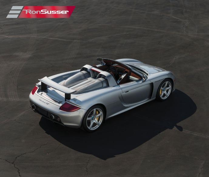 2005 Porsche Carrera GT 1900 Miles Silver Pristine Example