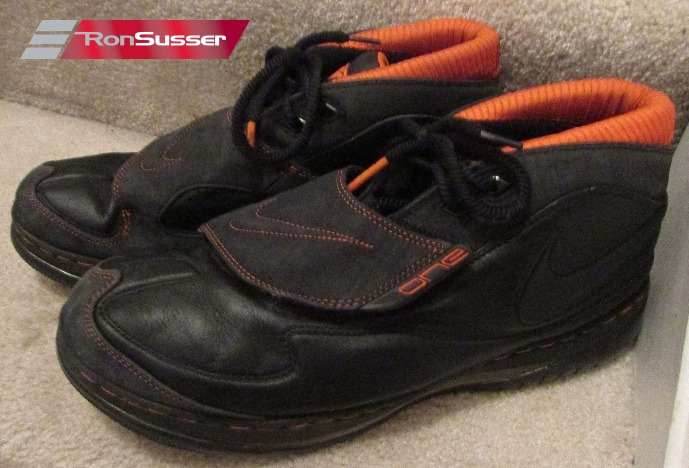 online store 2ffa9 f0ced Nike Air Max Force STAT Black Basketball Shoes Size 13 Style 315005-001 EUC