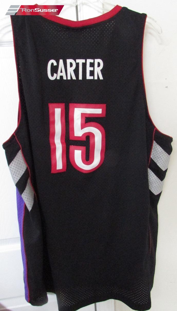 best sneakers 08091 28101 NBA Toronto Raptors Vince Carter #15 Purple Jersey 2XL by ...