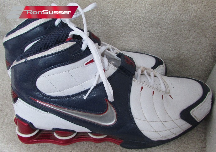 709109f8a97 I am pleased to offer these great Nike Shox VC V ZOOM Vince Carter USA  Olympic basketball shoes. Style is 312764-111 and size is 12.5.