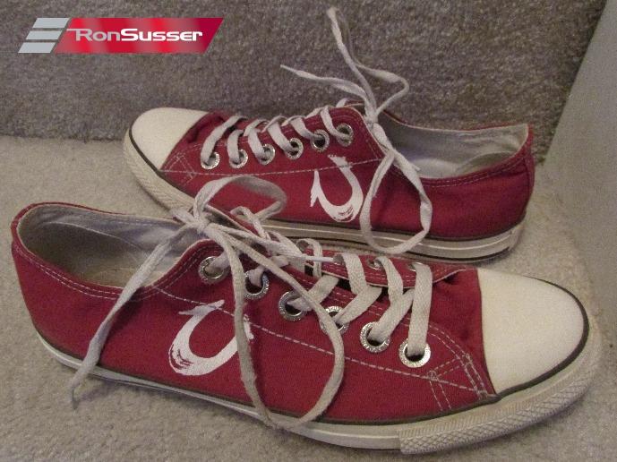 True Religion Dylan Low Top Sneakers