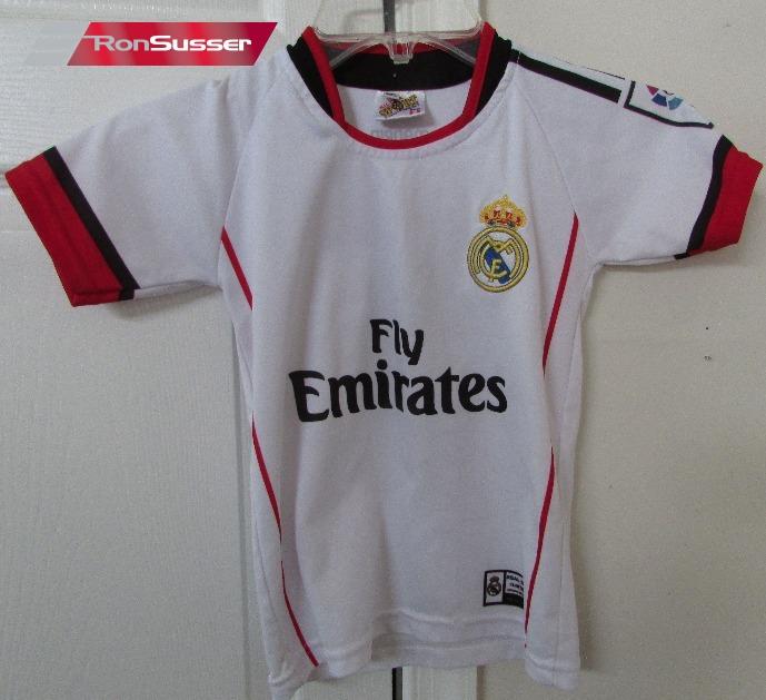 purchase cheap 9a6be f2697 Ronaldo #7 Real Madrid Fly Emirates Football Soccer Shirt ...