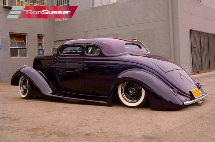 Jesse James Personal 1936 Ford 5 Window Custom WCC Coupe ...