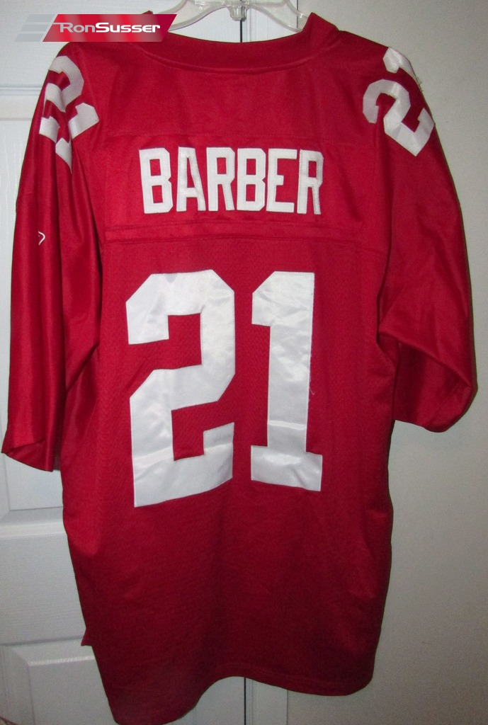 new style 749b7 733c6 NFL New York Giants Tiki Barber #21 Red Jersey Sz 2XL by ...