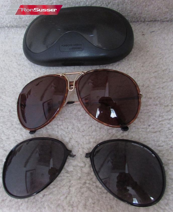 4ab793ed026f Vintage CARRERA PORSCHE DESIGN Gold 1980s Aviator Sunglasses ...