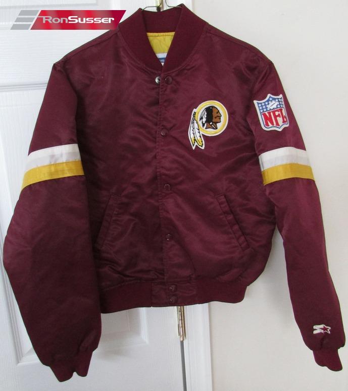 uk availability 76ac3 dd8f3 Vintage NFL Washington Redskins Youth Satin Jacket Large by ...