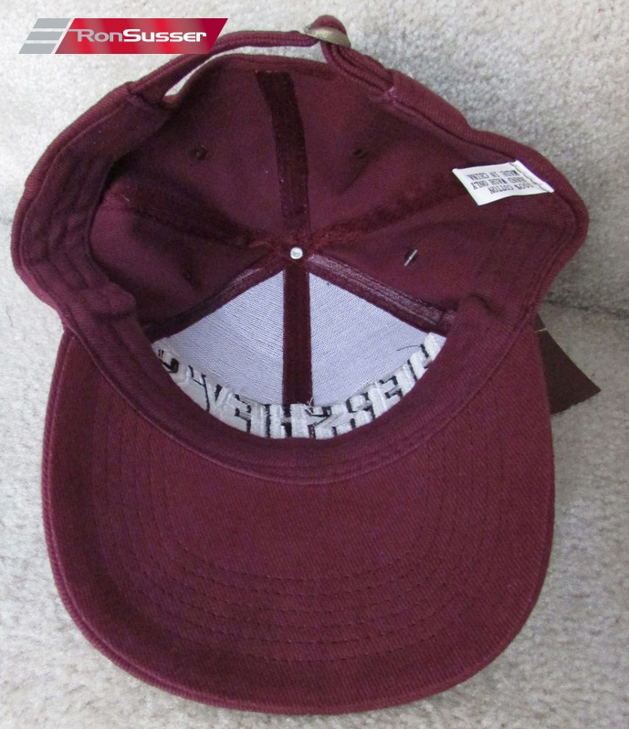 Chocolate Baseball Cap: NWT Hersheys Chocolate World Brown Baseball Hat Cap Brand