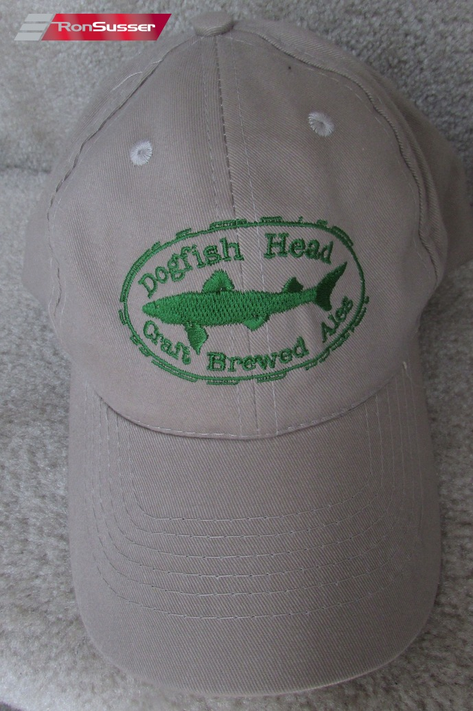 af5a900b492 Dogfish Head Ale Beer Licensed Beige Baseball Hat Cap OSFA EUC ...