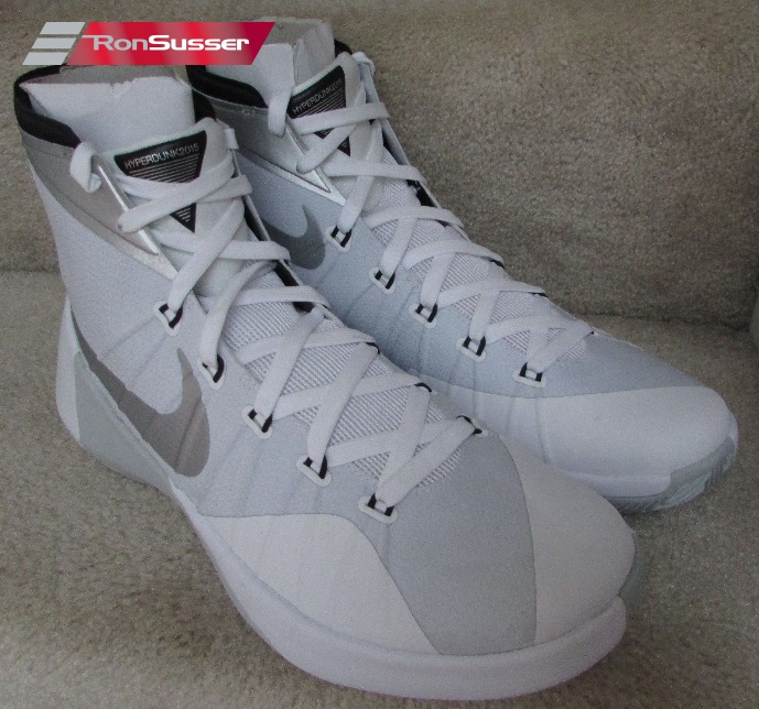 882c275f4c56 Nike Mens Hyperdunk 2015 TB Basketball Shoes White 749645-100 Size ...