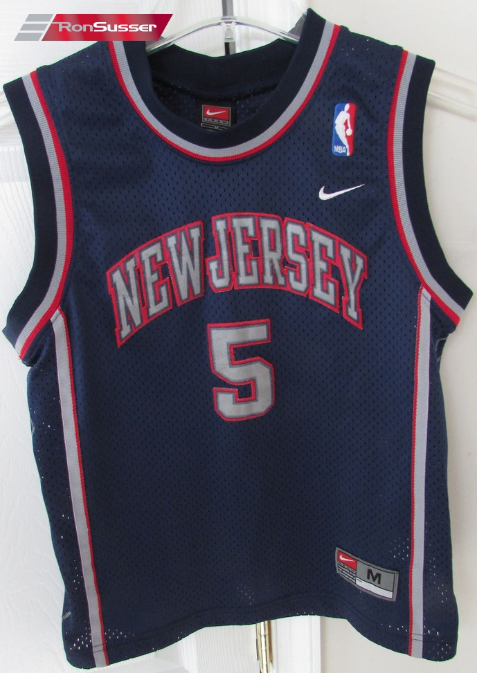 NBA New Jersey Nets Jason Kidd  5 Jersey Youth Medium by Nike  d1c6c1c70