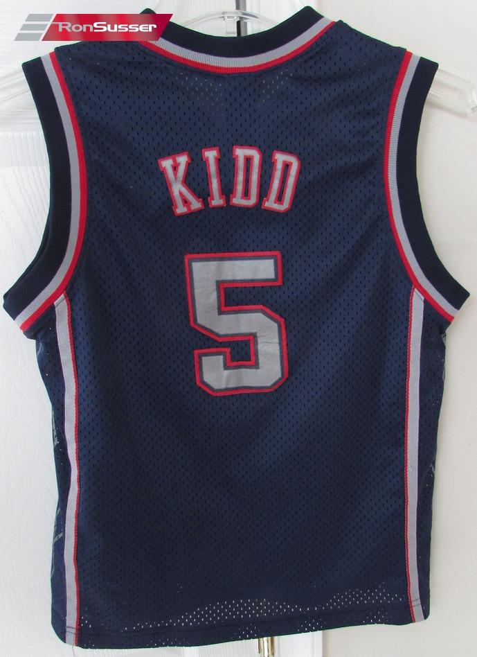 fd80204f NBA New Jersey Nets Jason Kidd #5 Jersey Youth Medium by Nike | eBay
