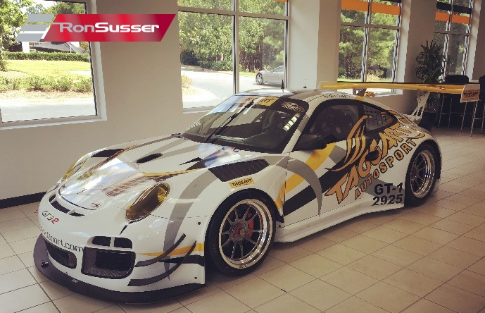 2011 porsche factory 997 gt3r race car ready to race. Black Bedroom Furniture Sets. Home Design Ideas