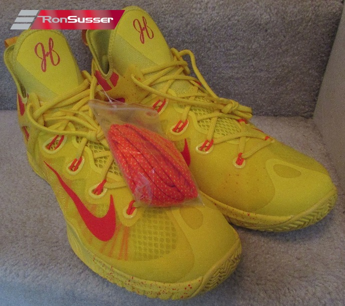 the latest 49504 7c317 I am pleased to offer these 2015 Nike Zoom Hyperrev James Harden signature  sample shoes.