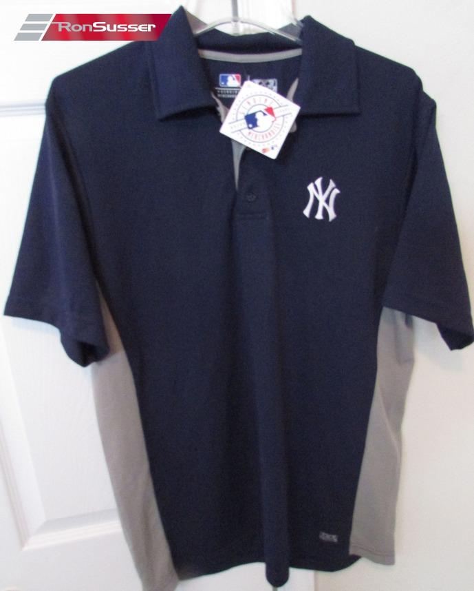 New York Yankees MLB Golf Polo Shirt Med by TX3 Cool NWT New ... a5e648c347f