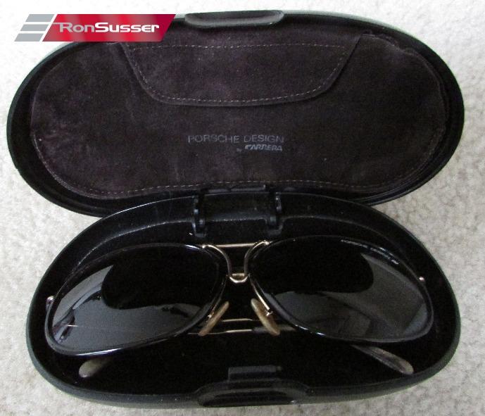cfe944399c9 Vintage Porsche Design Carrera 1980s Sunglasses Gold Frame 5632 Large with  Case