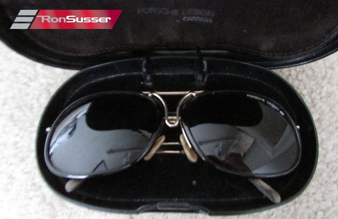a9eb5c51e752 Vintage Porsche Design Carrera 1980s Sunglasses Gold Frame 5632 Large with  Case