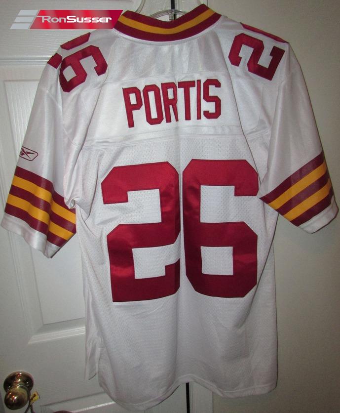 buy popular 2d0e6 574fc NFL Washington Redskins Clinton Portis #26 Jersey by Reebok ...