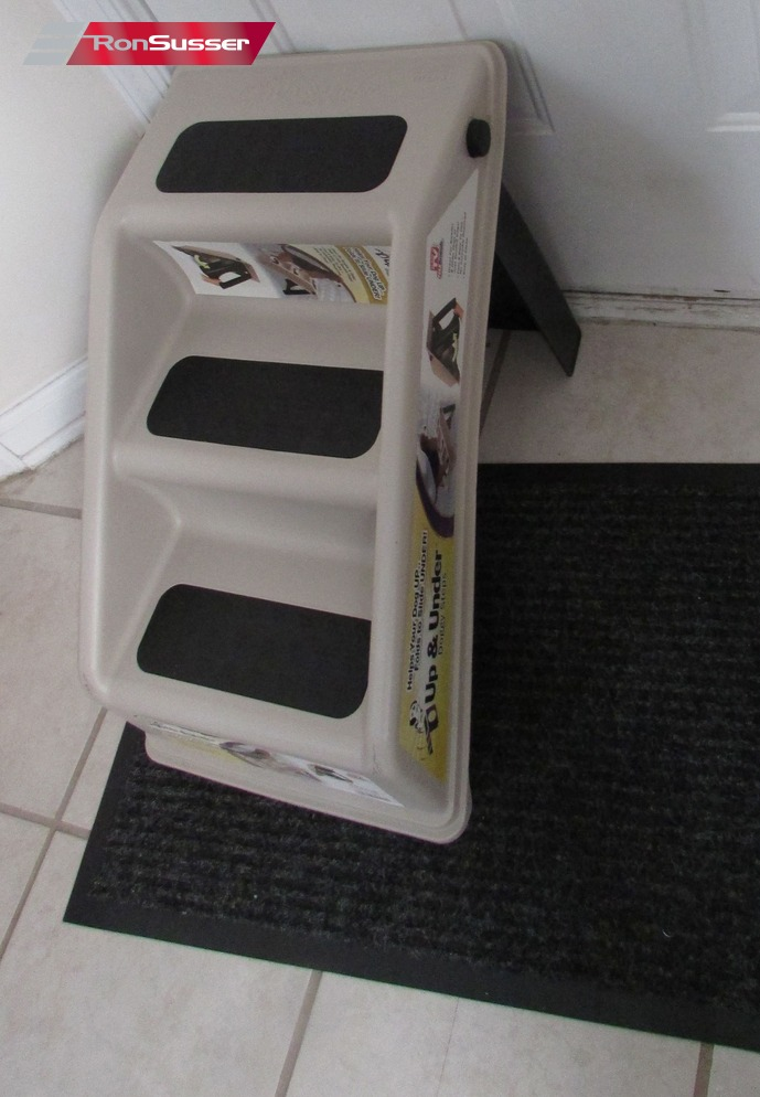 Dog Ramp For Bed >> UP And UNDER Pet Stairs Cat Dog Puppy Ramp Steps AS SEEN ...